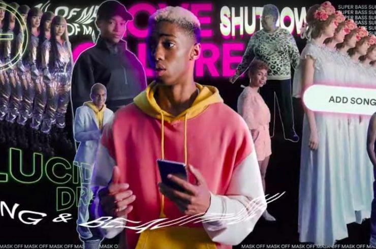 Spot télévisé pour promouvoir la campagne Wrapped de Spotify en 2019