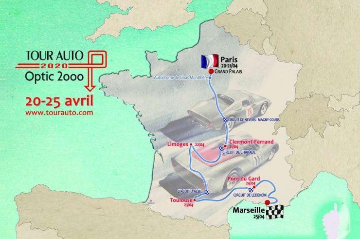 Tour Auto Optic 2000 : Le Parcours 2020 Dévoilé !