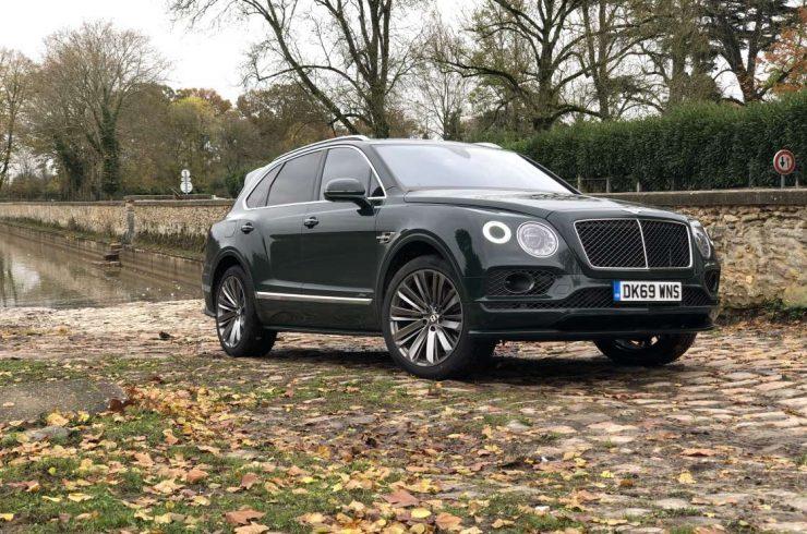 SUV Bentley Bentayga Speed