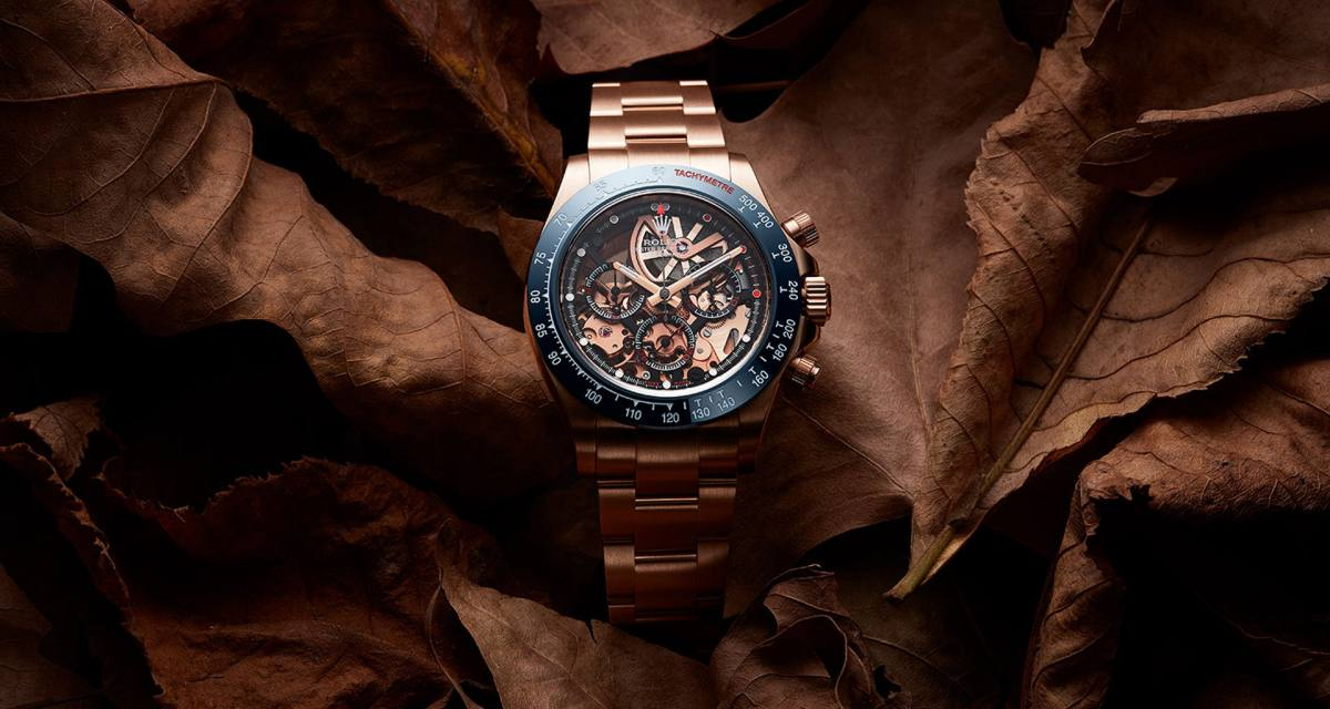 Rolex Blausee Daytona, Une Création Genevoise   Forbes France