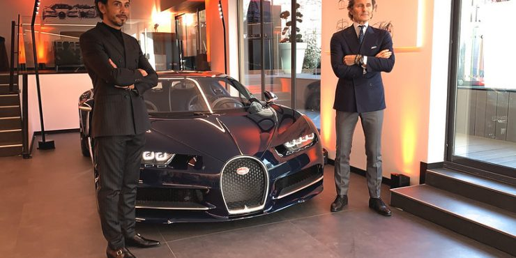 Bugatti Paris inaugure son nouveau showroom d
