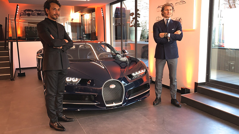 Bugatti inaugure son nouveau showroom près de Paris