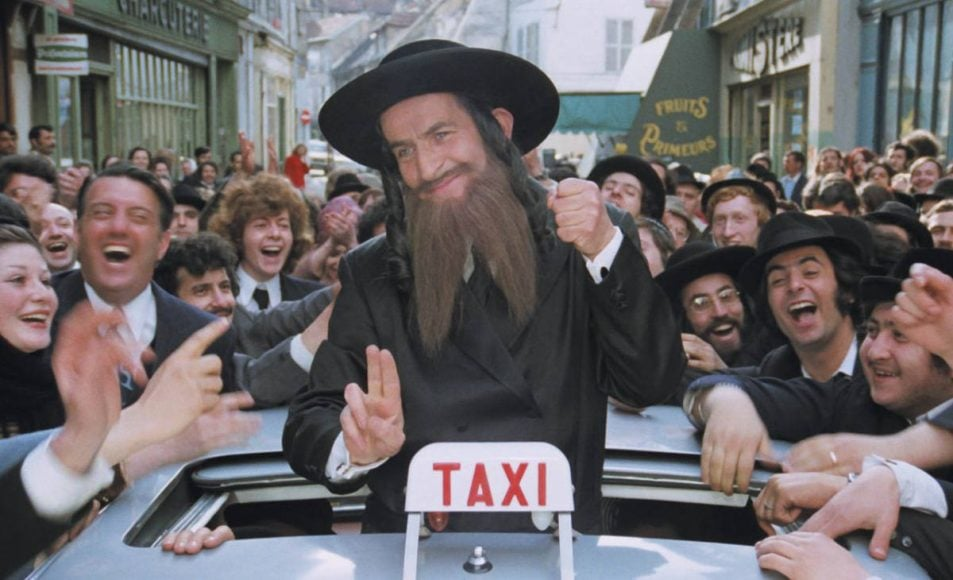 filmographie Oury avec rabbi Jaco