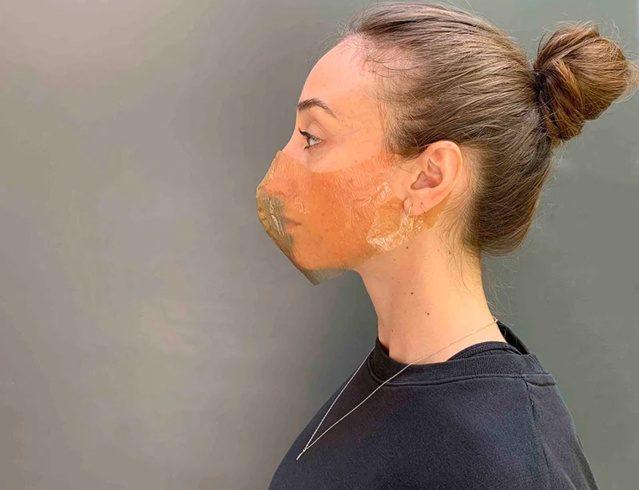 Un masque biodégradable pour limiter la pollution plastique Sum Studio