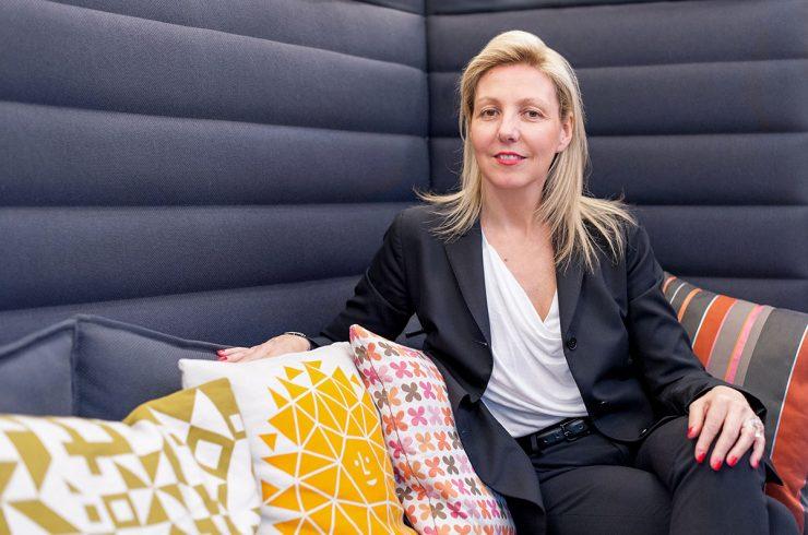 Isabelle de Ponfilly, directrice de Vitra France crédit photo Alexandra de Cossette