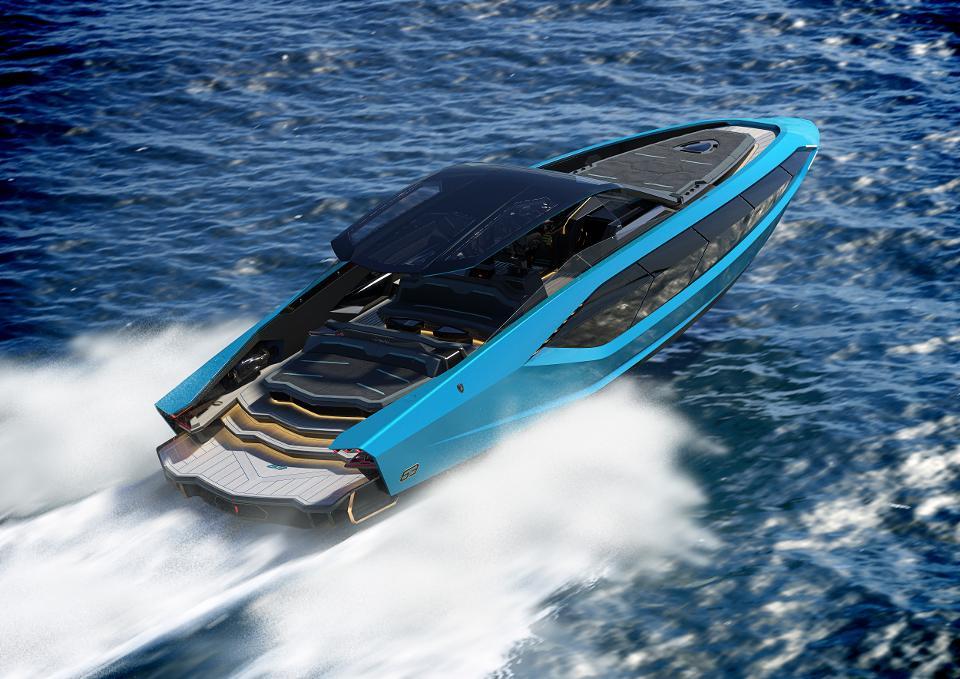 Yacht Tecnomar For Lamborghini : Style Et Technologie | Forbes France