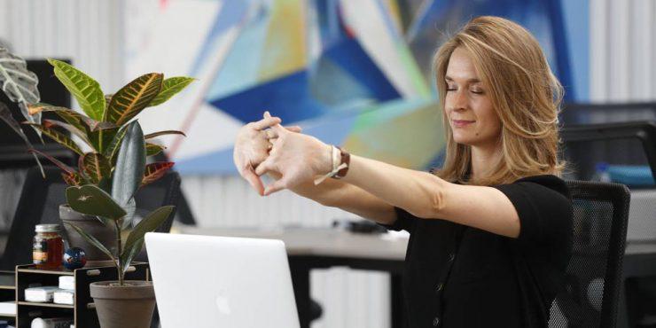 yoga Anne-Charlotte Vuccino, Yogist