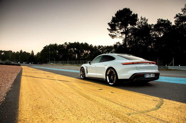 Porsche Taycan essai