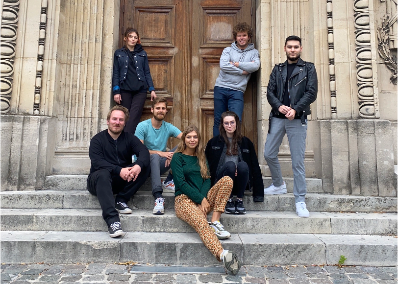 Photo d'équipe de la start-up Rocambole