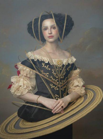 Serie Louis CXIV «Marie Mancini.» Daiane - Sacha Goldberger