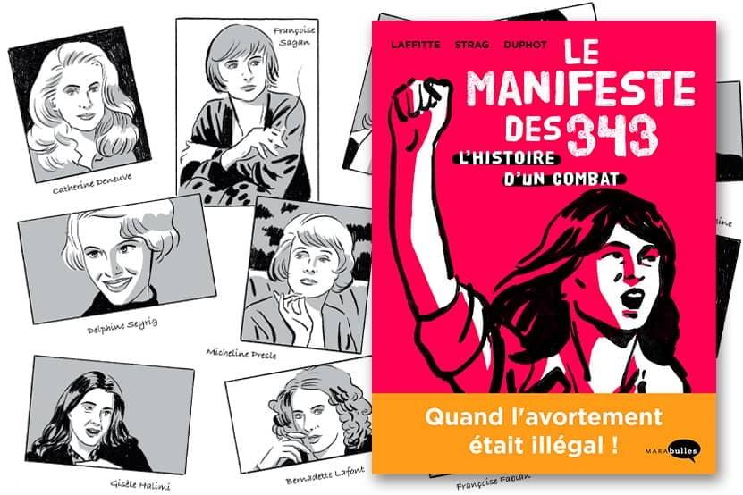 BD Manifeste 343 combat avortement Adeline Laffite