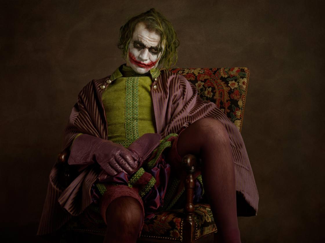Serie Super Flemish - Portret van een grijnzende nar» * « Portrait d'un bouffon au sourire grimaçant. » - Sacha Goldberger