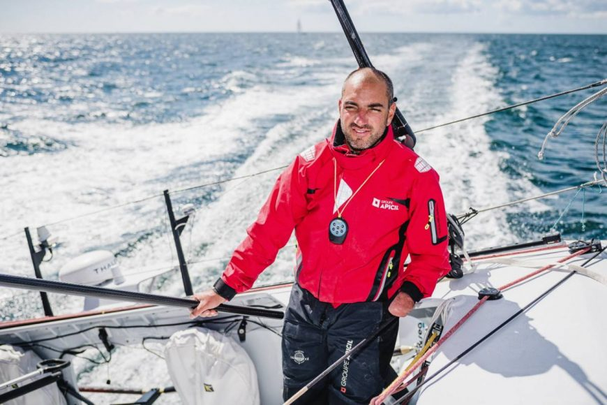 Damien Seguin skipper Vendée Globe handisport