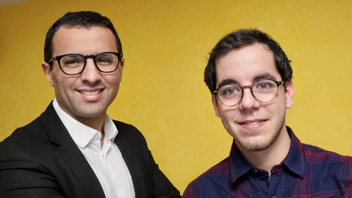 Guillaume Asskari, fondateur de la France Connectée et Ali Jiar, vice-président de la France Connectée et fondateur de l'Ecole Numérique Solidaire des Quartiers