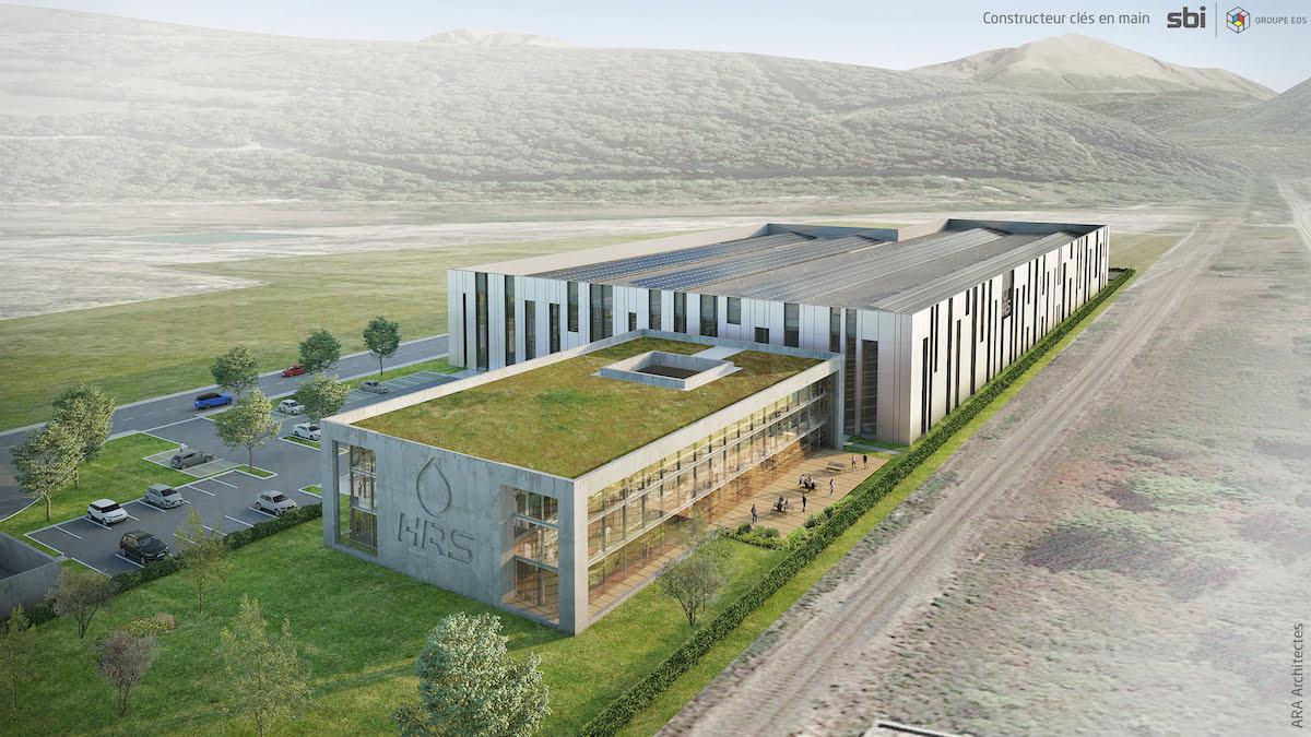 Futur siège social de la société HRS (Hydrogen Refueling Solutions)
