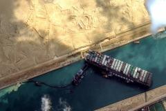 L'Ever Given bloque le canal de Suez