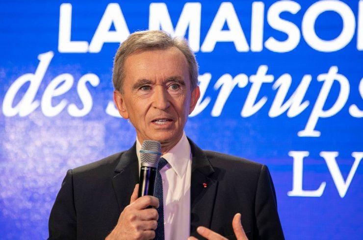 Bernard Arnault, propriétaire de La Samaritaine