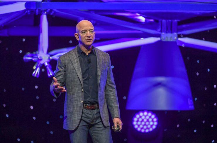Jeff Bezos bientôt dans l'espace ?