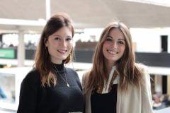 Julie et Laurie, co-fondatrice d'ARTPOINT